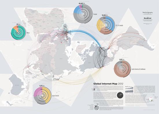 Global internet map 2012