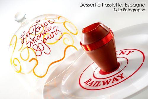 Espagne-dessert-assiette
