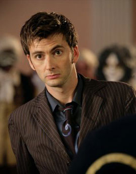 David Tennant como el Doctor