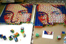 Invader y su periodo RubikCubist