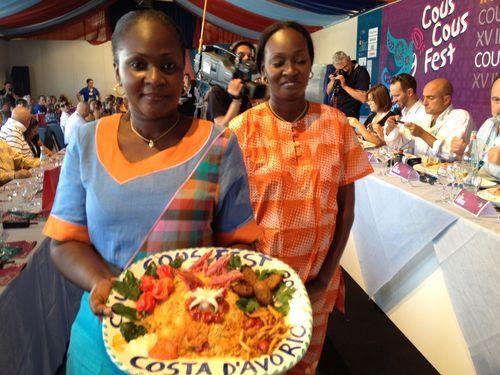 Cocineras de Costa de Marfil, las hermanas Awa y Marème