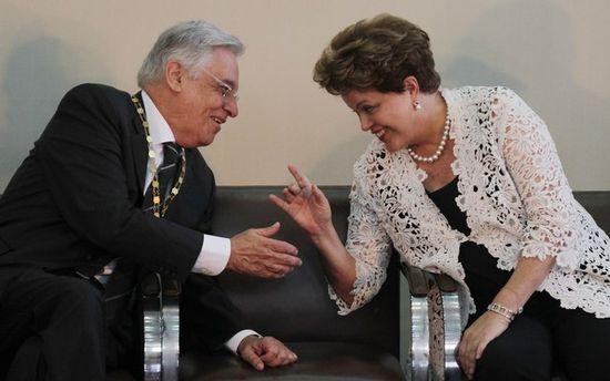 Dilma y cardoso