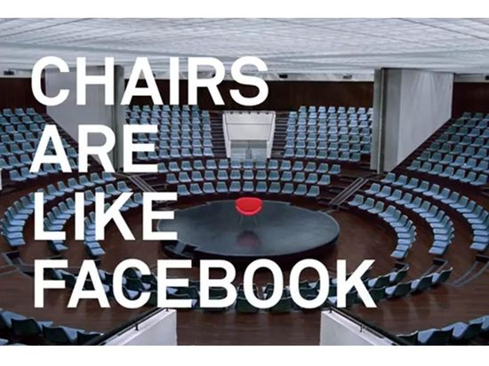 Chairs are like facebook