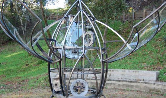 El prototipo de Organograph que se está exponiendo en San José