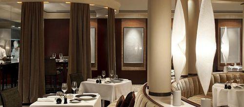 Perspectiva interior del restaurante Pur