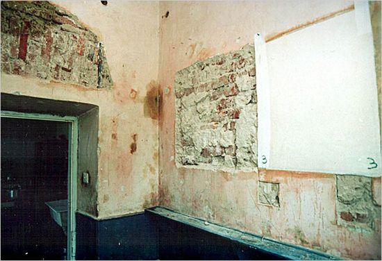 La habitación donde se encontró el mural