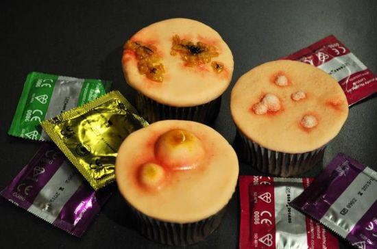 Cupcakes venéreos