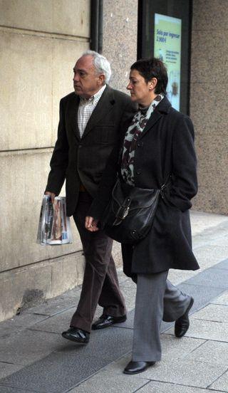 Lourdes Auzmendi, ex novia de Pertur