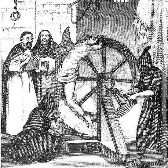 Homosexual torturado durante la Inquisición española