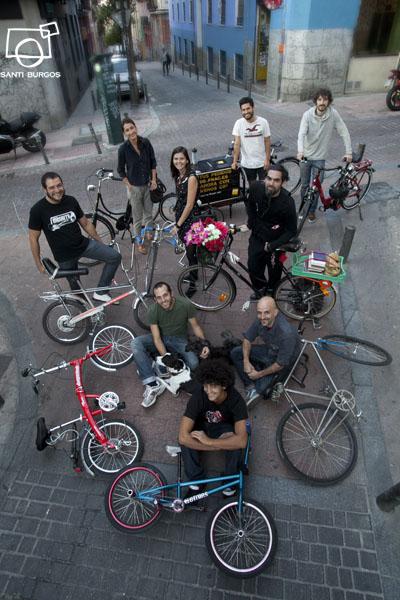 En Madrid, la bicicleta se ha instaurado. Santi Burgos.