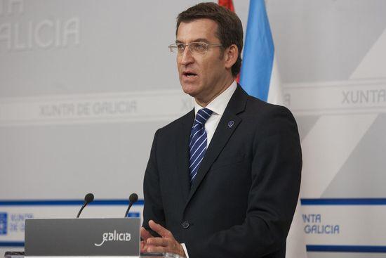 """""""Con estos datos no se puede decir que estemos saliendo de la crisis"""", dijo el presidente Feijóo"""
