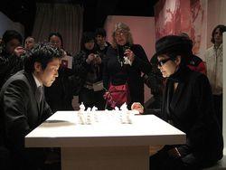 White chess de Yoko Ono