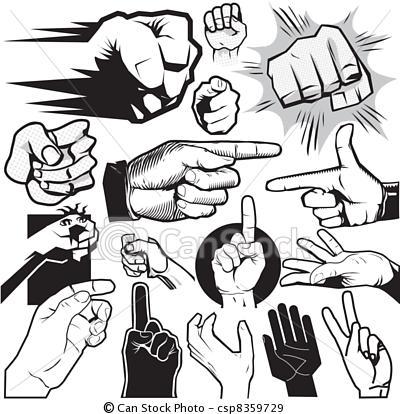 Gestos de las manos