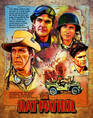 Cartel de The Rat Patrol