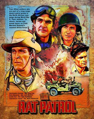 Cartel de The Rat Patrol