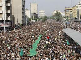Movimiento Verde protesta