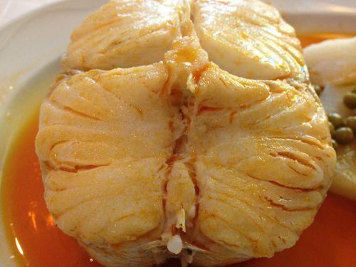 Las patatas gallegas son tan deliciosas, si cabe, como esta merluza