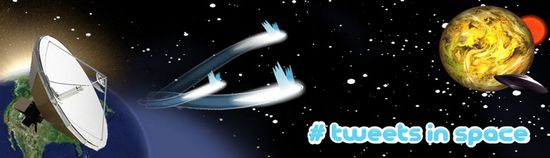 Tweets in Space de Nathaniel Stern y Scott Kildall