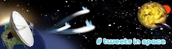 Tweets in Space de Nathaniel Stern y Scott Kildall