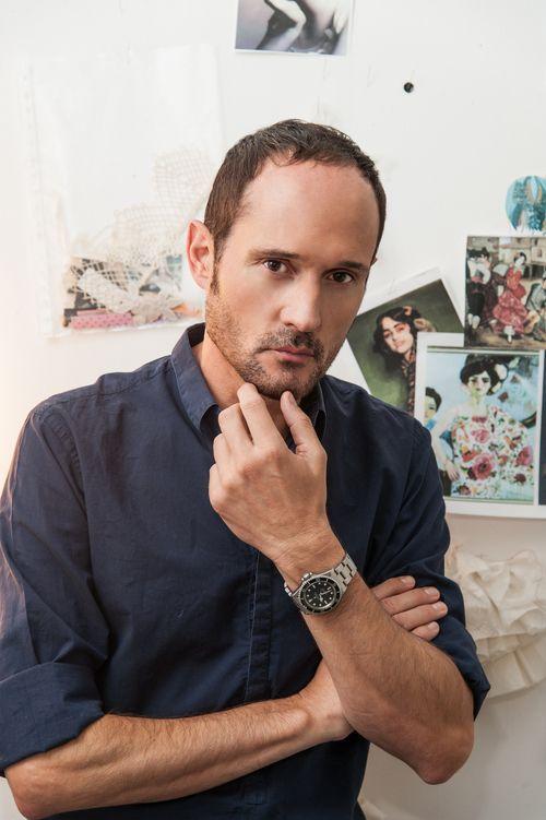 Retrato Josep Font Director Creativo de DELPOZO
