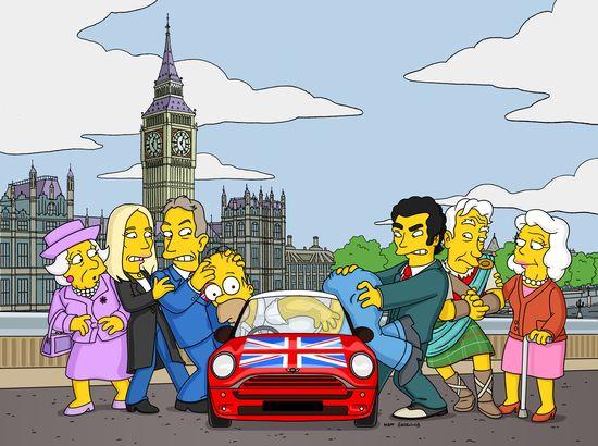 The Simpsons London (c) 20th Century Fox Corporation 58771_1_3