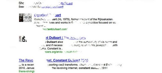 The Untitled Internet de Constant Dullaart