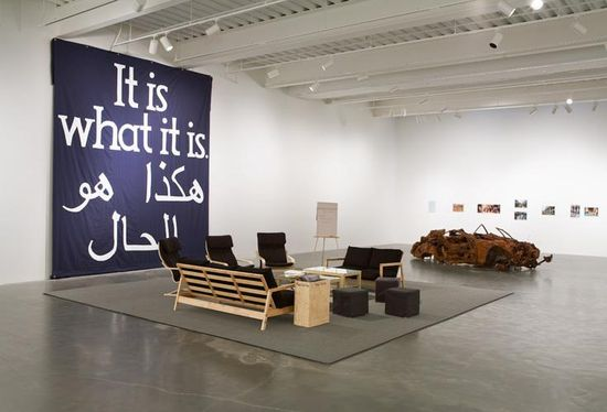 Deller_Jeremy-It_Is_What_It_Is_Conversations_About_Iraq_installation_view