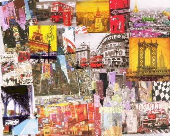 Collage de ciudades