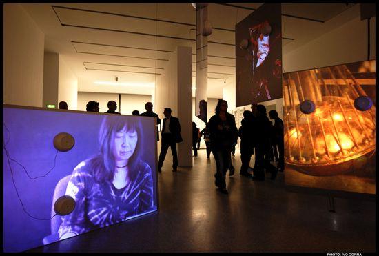 Tony Ourler.instalación de Sonic Youth en el CA2M, de Madrid