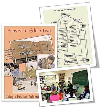 Colegio Público Palomeras. Organización de la vida escolar