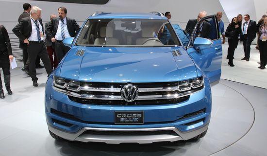 VW Cross Blue / Newspress