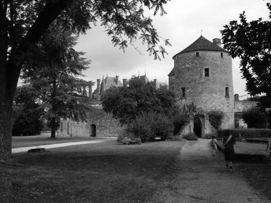 La torre de Montaigne (en primer pla)