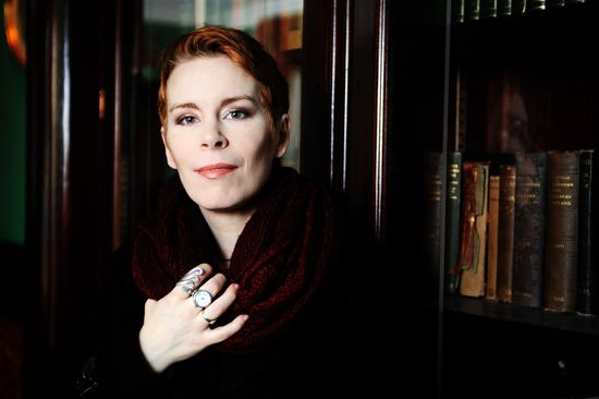 Tana French en Dublín /KIM KAUGHTON