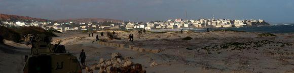 Amisom patrullando costa somalí