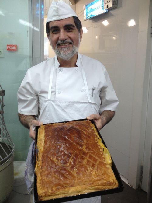 Ángel Villamil, pastelero jefe