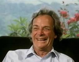 El premio Nobel de Física Richard Feynman
