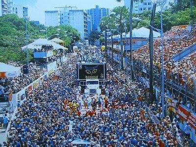 Carnavales en Salvador de Bahía