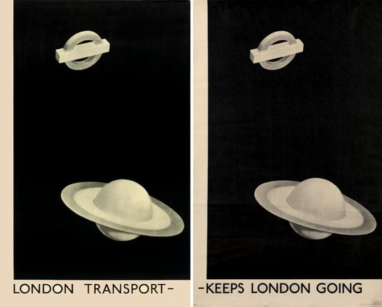 Man Ray, London Transport-Keeps London Going, 1938