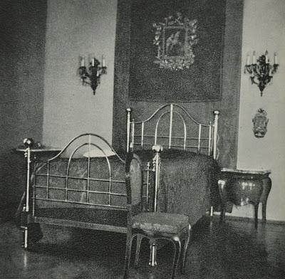 Dormitorio del papa en Castelgandolfo