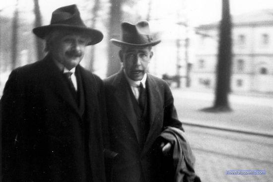 Dos genios incomparables, Niels Bohr y Albert Einstein