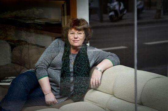 La escritora noruega Anne Holt. / JOAN SÁNCHEZ