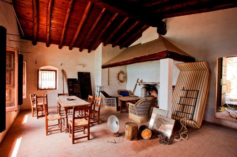 El salón antes