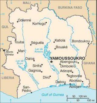 Cote_d'Ivoire-CIA_WFB_Map
