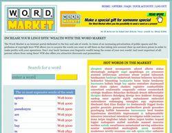 Word Market de Belen Gache