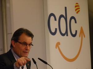 Artur Mas, presidente de la Generalitat de Cataluña.