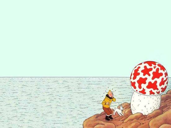 Tintin-champignon