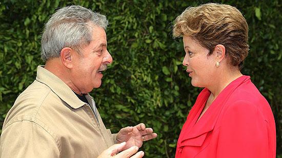 Dilma y Lula  hoy