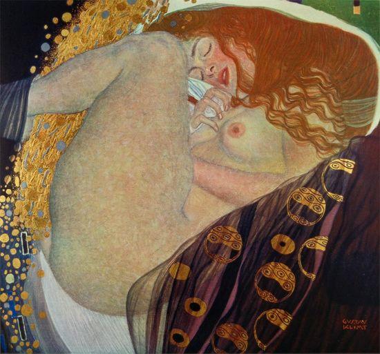 Gustav_klimt-_austrian-_danae_-1907_1908