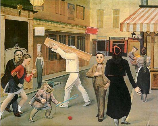 La calle balthus