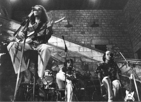 Sisa, Paco Pi y Manel Joseph, in the golden days of 75